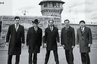 Los Tigres del Norte en la prisión de Folson