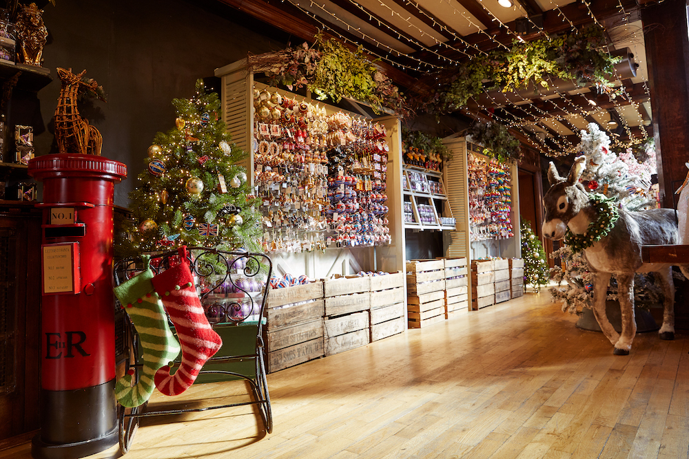 Heatwave, what heatwave? Liberty has just opened its Christmas shop