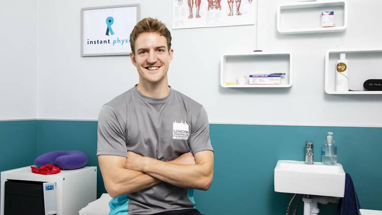 Ed Thompson, Physiotherapist