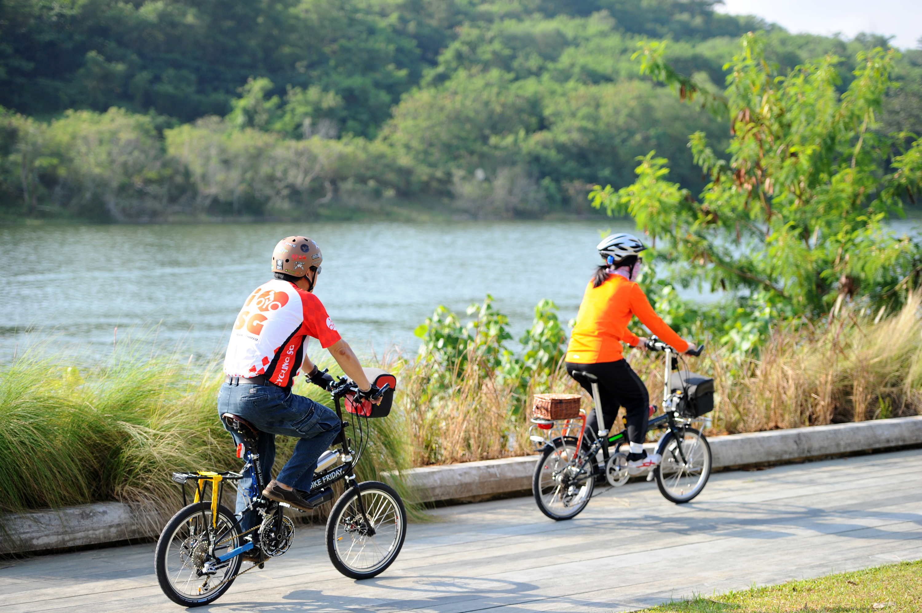 The best cycling trails in Singapore