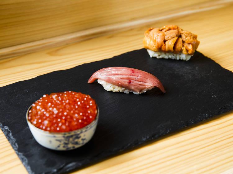Revel in budget-friendly omakase sushi at Sushi Tokyo Ten