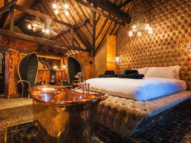 Save 61% on a Crazy Bear hotel break for two