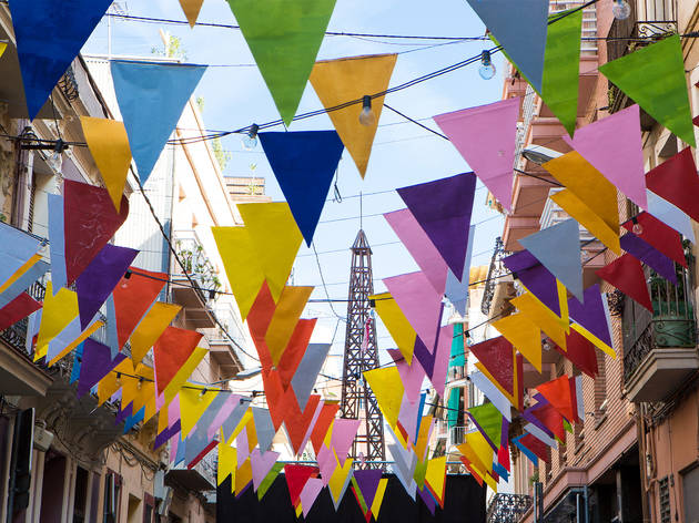 Festes de Sants 2019: Carrer Alcolea de Dalt