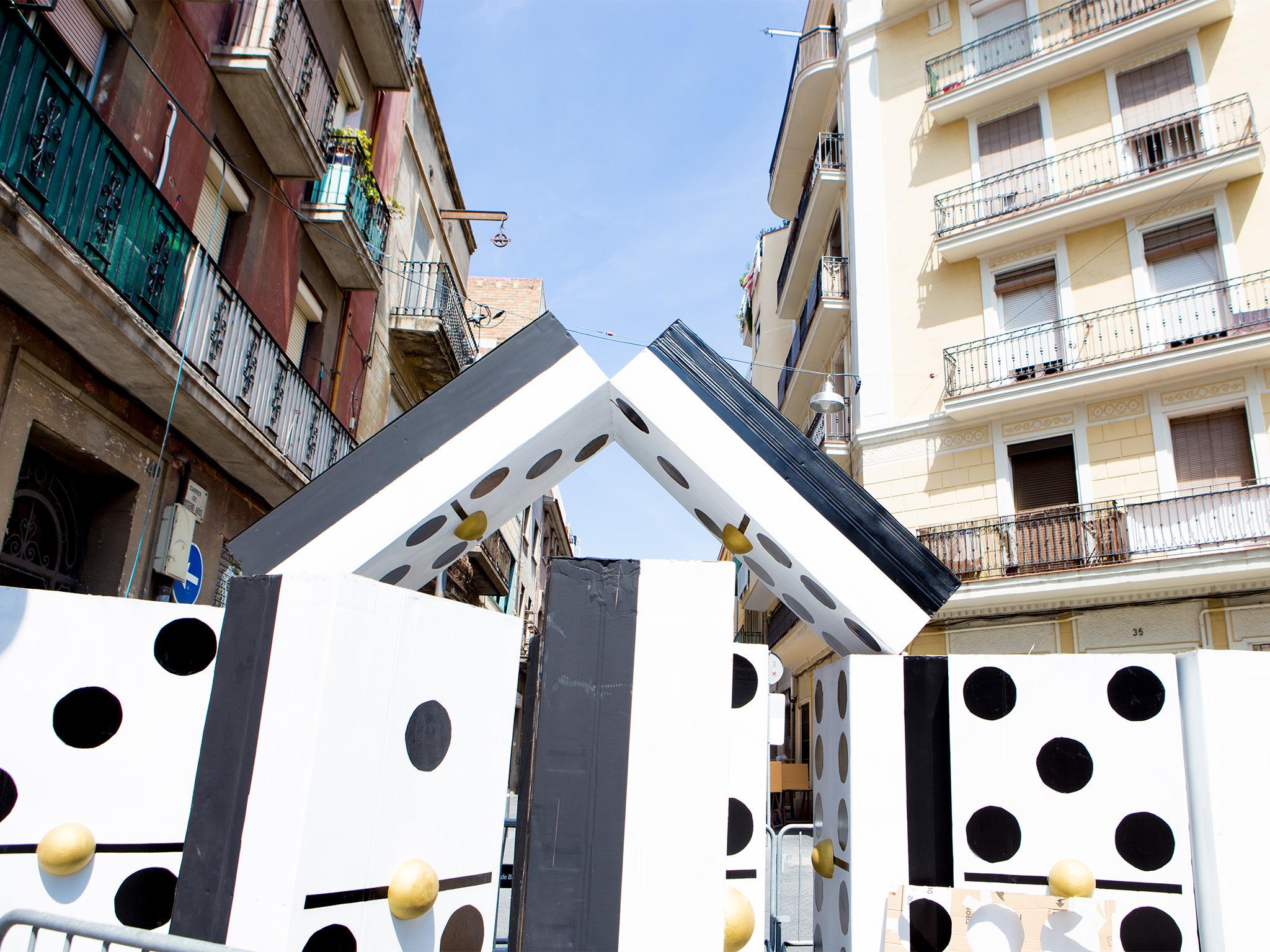 Festes de Sants 2019: Plaça de la Farga