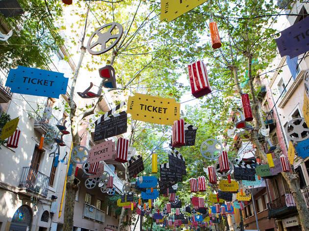 Festes de Sants 2019: Carrer Vallespir de Dalt