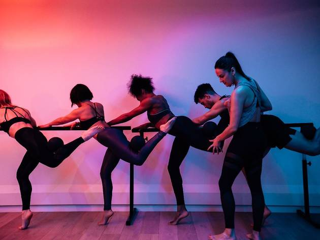 67% off three Barre classes and a free ride class at Psycle