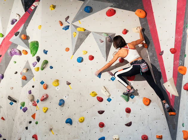 45% off a one-day pass to CroyWall Climbing Centre