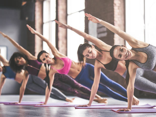 Up to 74% off classes at Energy Yoga
