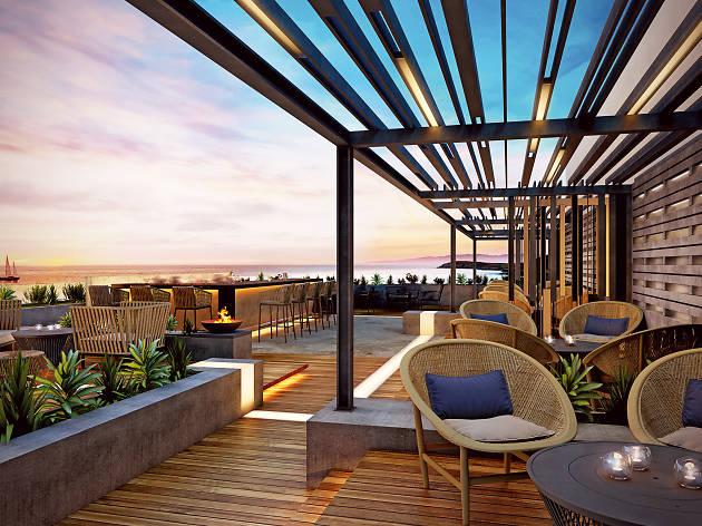 The Roof Bar at Turtle Bay Bar & Grill, Abu Dhabi, UAE