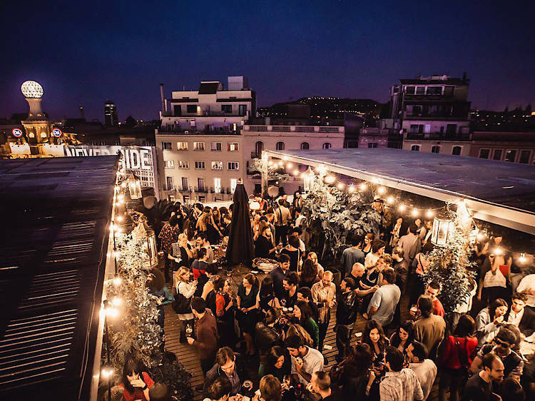 The Pulitzer Terrace at Hotel Pulitzer, Barcelona