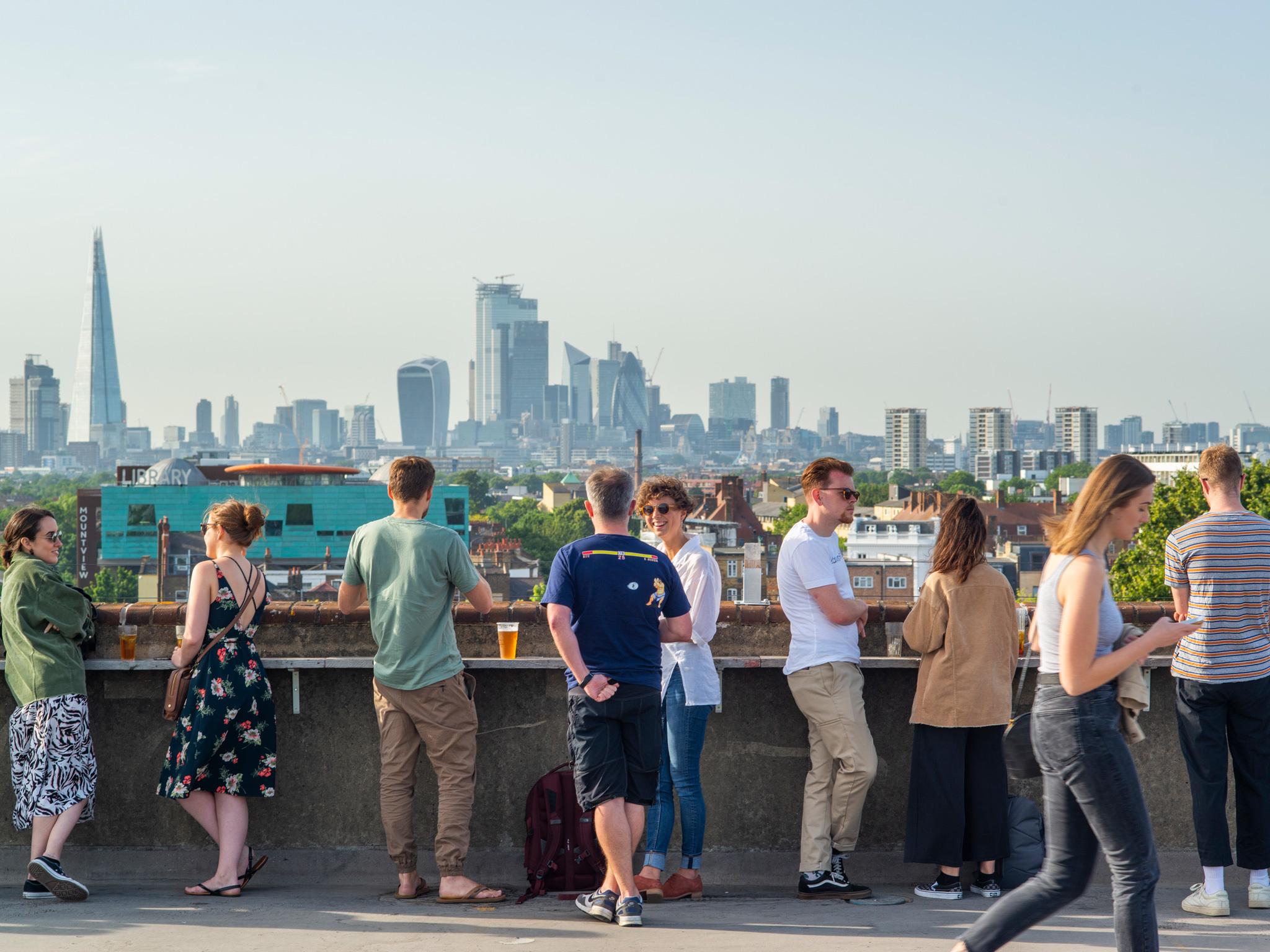 It's the last weekend of rooftop drinking at Frank's Café for the summer