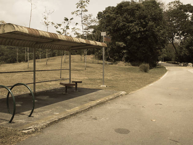 Old bus stop