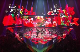 Actuación de Rosalía en los MTV Awards