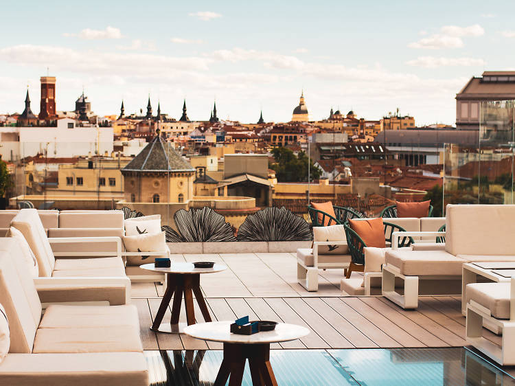 Ginkgo Sky Bar at VP Plaza España Design, Madrid