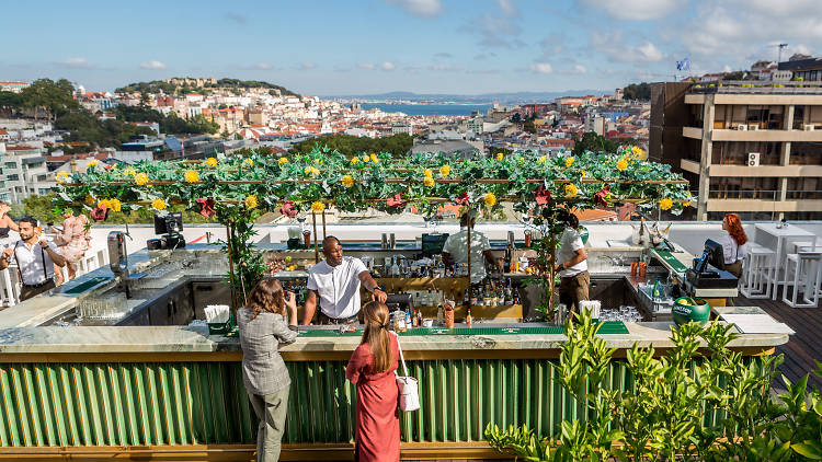 Sky Bar by SEEN, Lisbon