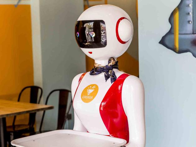 Robot del restaurant Crensa