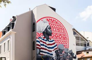 Mural da Casa da Cultura de Cabo Verde