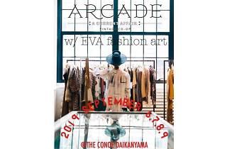 ARCADE w/ EVA fashion art