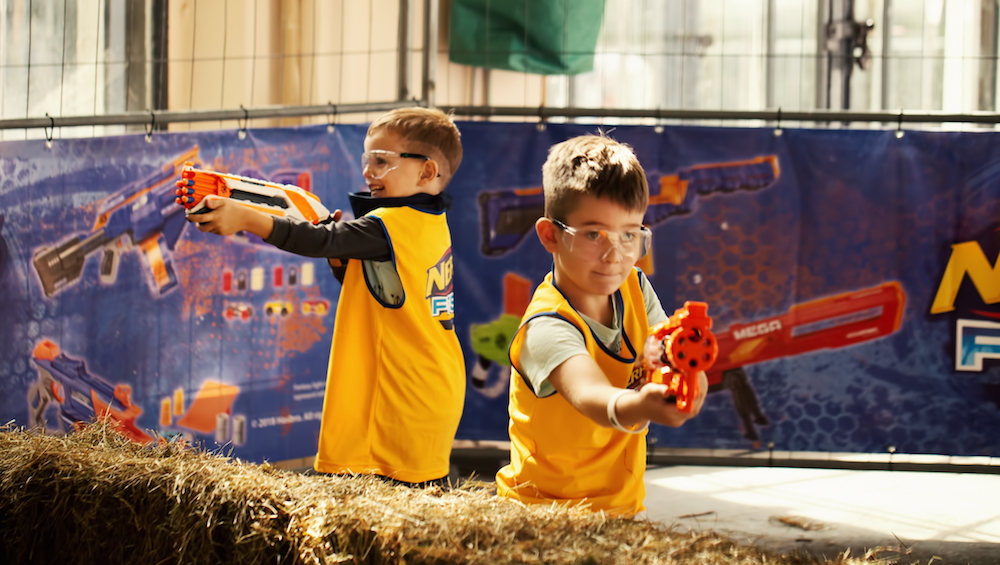 The world's first dedicated Nerf centre opens at Marina Square in October 2019