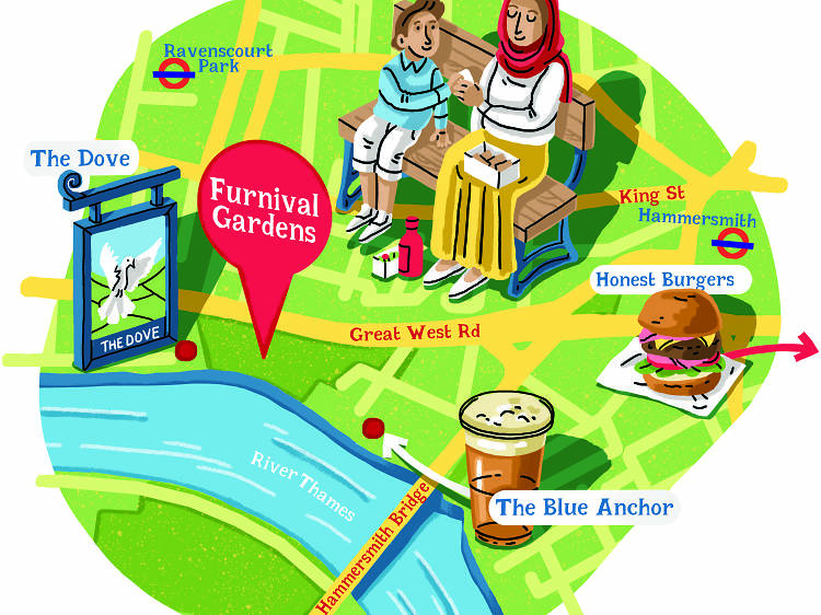 Instead of Chiswick House and Gardens try… Furnivall Gardens