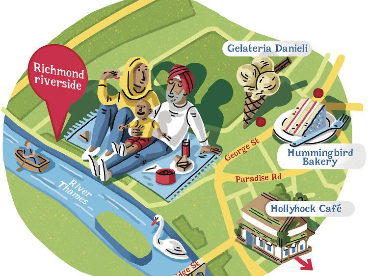 Instead of Richmond Park try… Richmond riverside