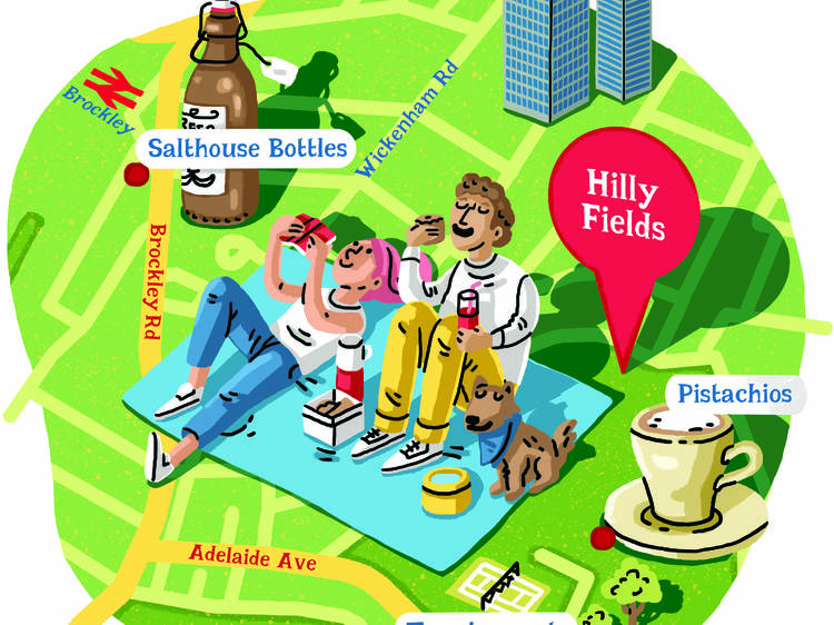 Instead of Peckham Rye Park try…  Hilly Fields
