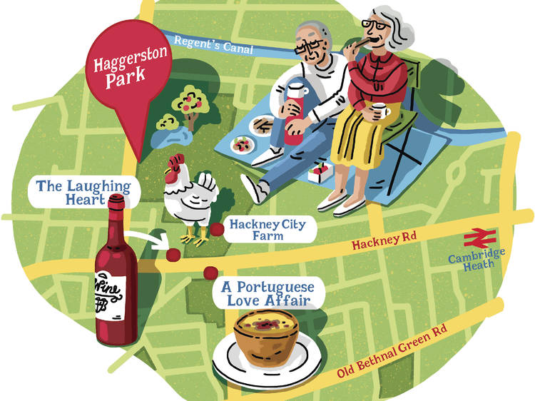 Instead of Victoria Park try…  Haggerston Park