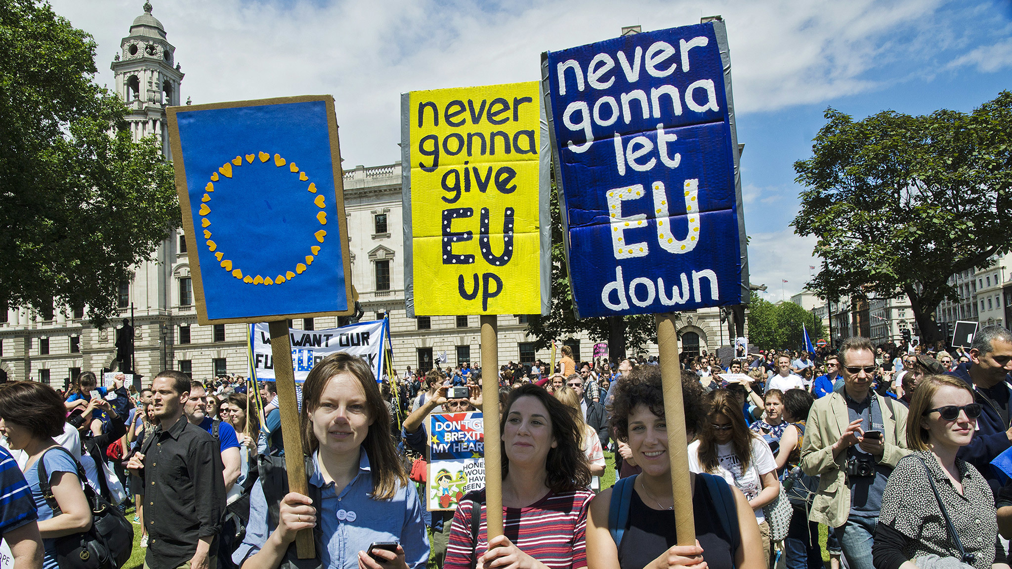 Anti-Brexit, pro-EU protest in London