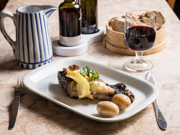 Restaurante, Toscana Casa de Pasto, Bacalhau à Toscana