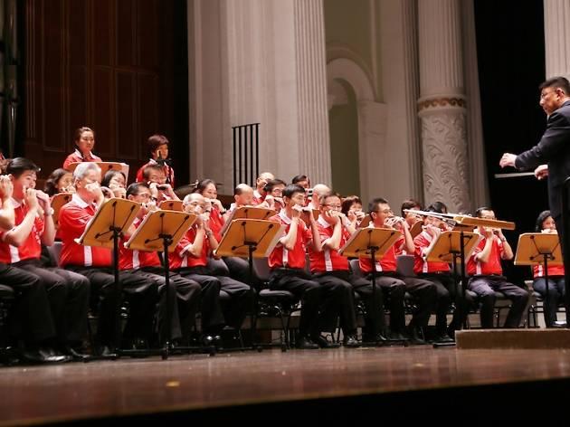 Silver Arts, Hainan Hwee Kuan Harmonica Orchestra