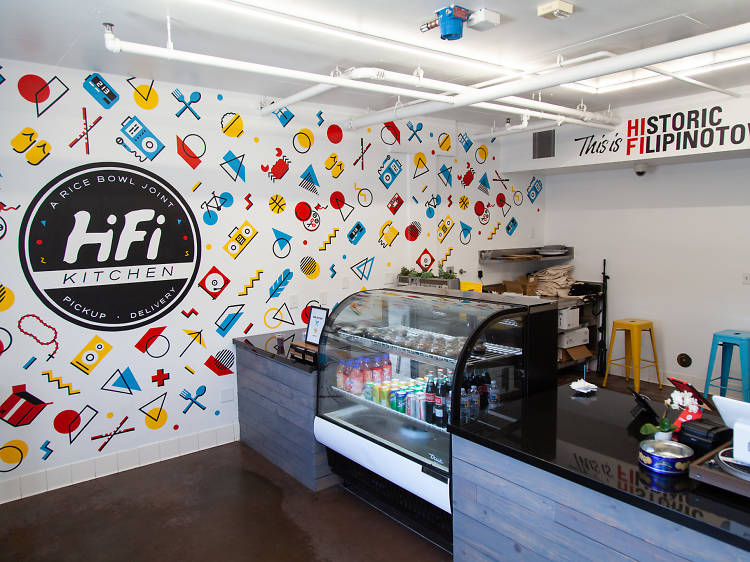 Get your '90s fix with rice bowls at HiFi Kitchen