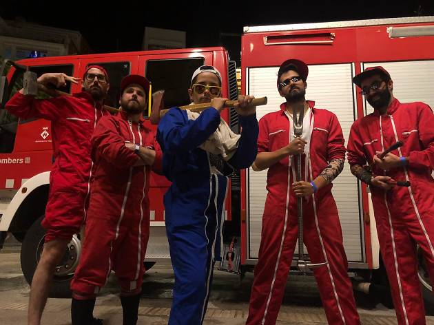 La Banda del Coche Rojo