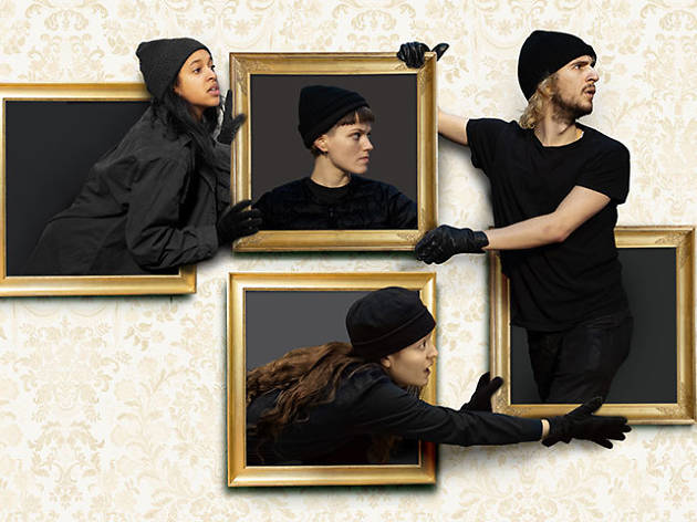 'Art Heist' at New Diorama Theatre