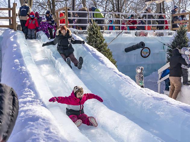 Fête des neiges de Montréal - Parc Jean-Drapeau