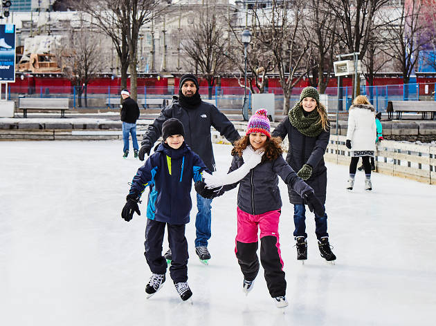 Here's where to go ice skating in Montreal this winter