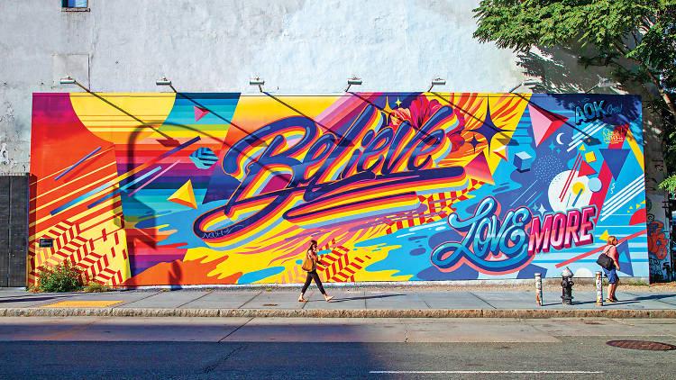 Bowery Graffiti Wall