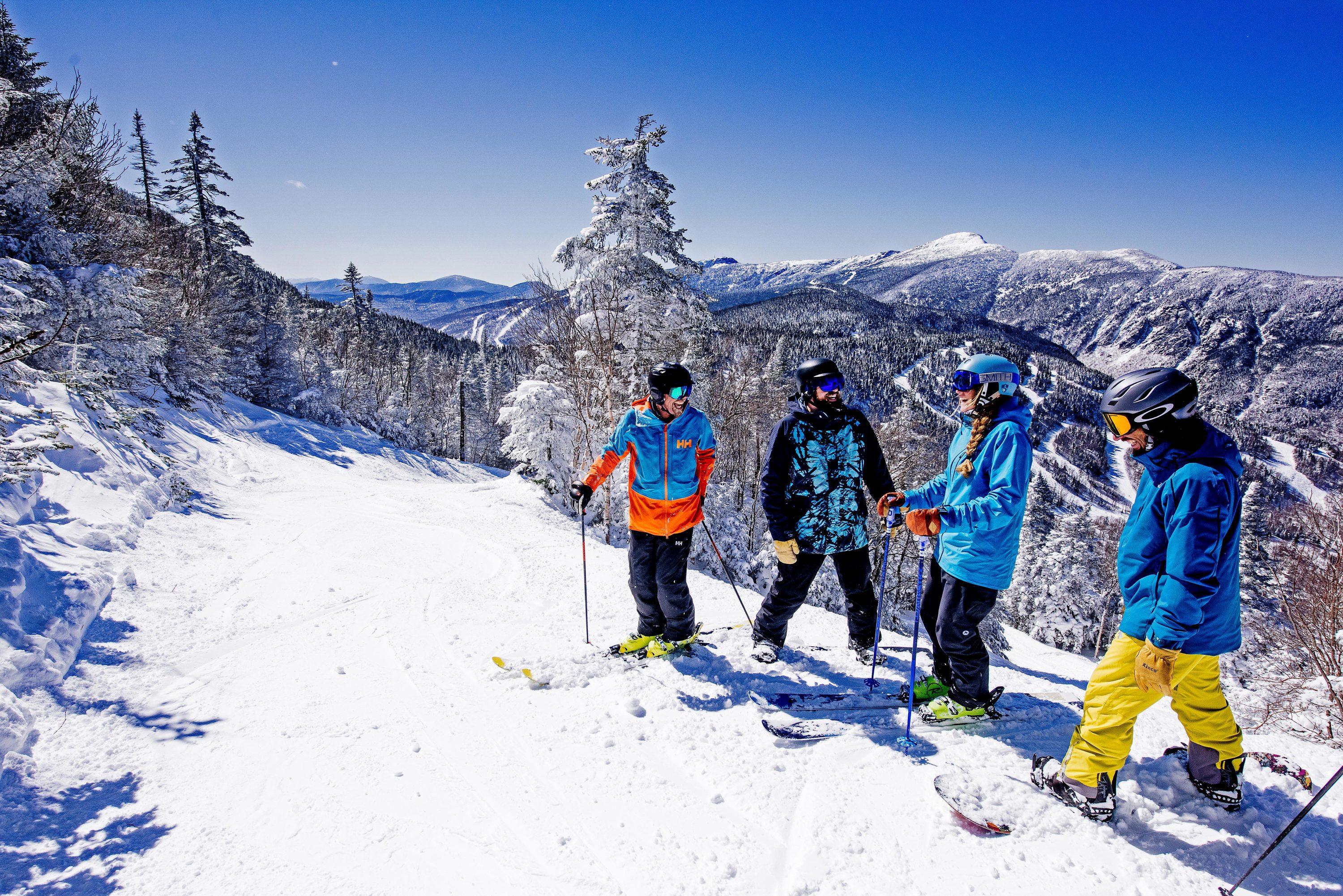 Where to find best Montreal skiing near the city