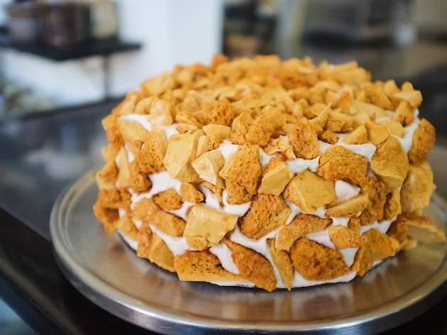 Valerie Gordon Blum's crumb cake Historic Filipinotown
