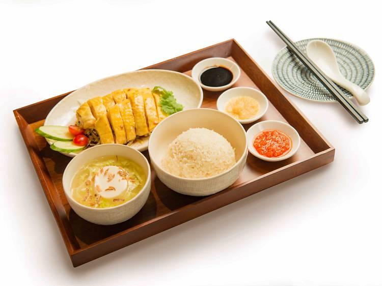 Chatterbox Café:星洲傳奇文華海南雞飯