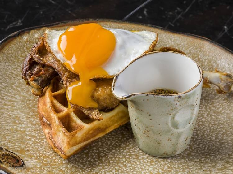 Duck & Waffle:經典鴨肉窩夫