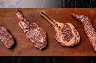 Steak at Rockpool Bar & Grill