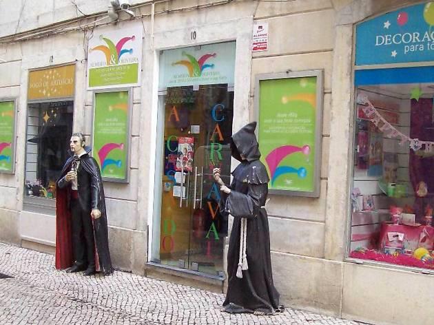 as melhores lojas de disfarces em Lisboa