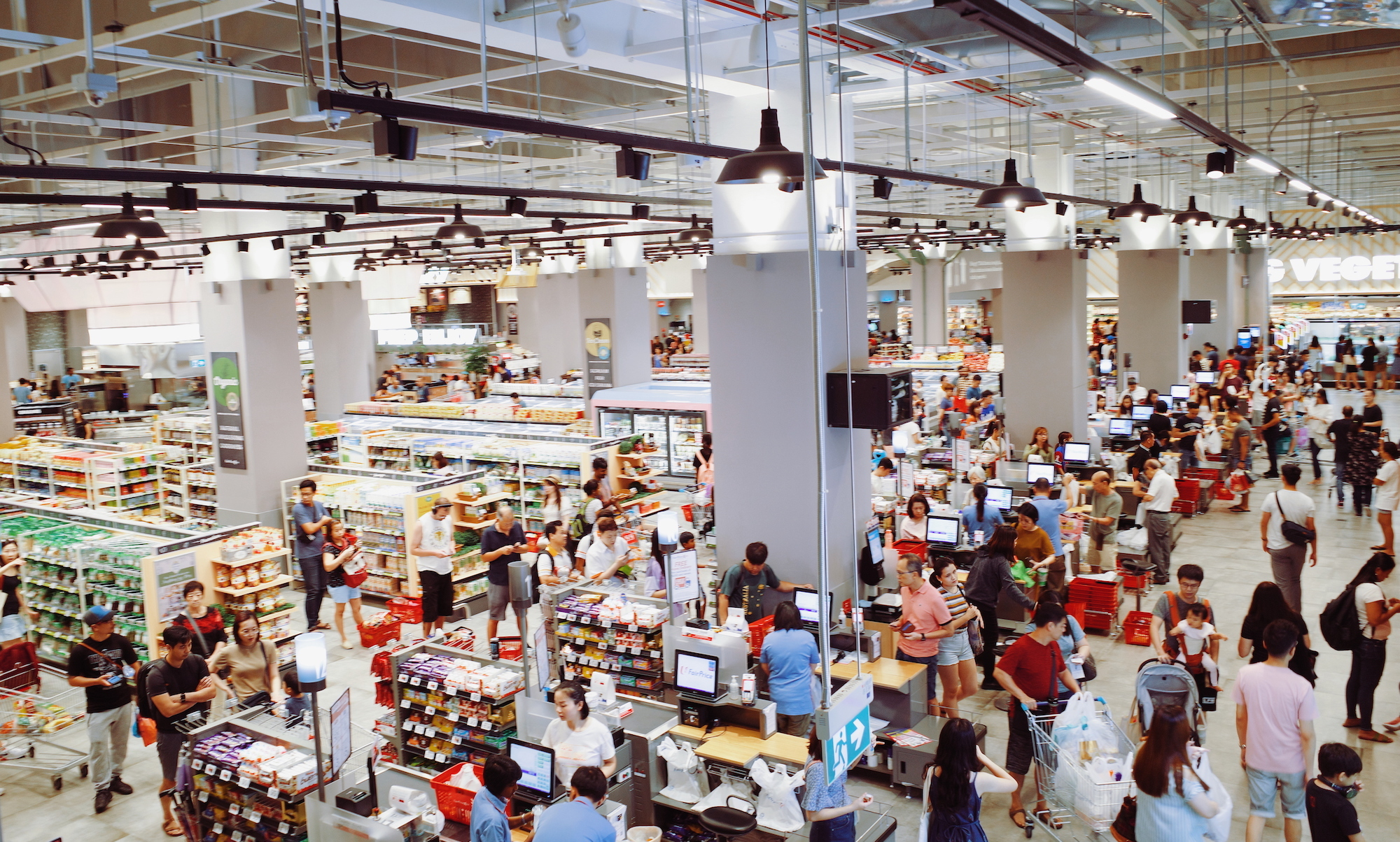 Guide to shopping at FairPrice Xtra supermarket in VivoCity