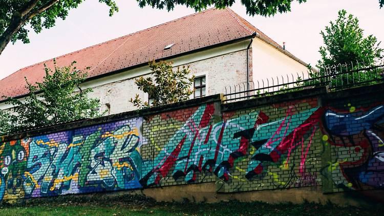 Art Park graffiti