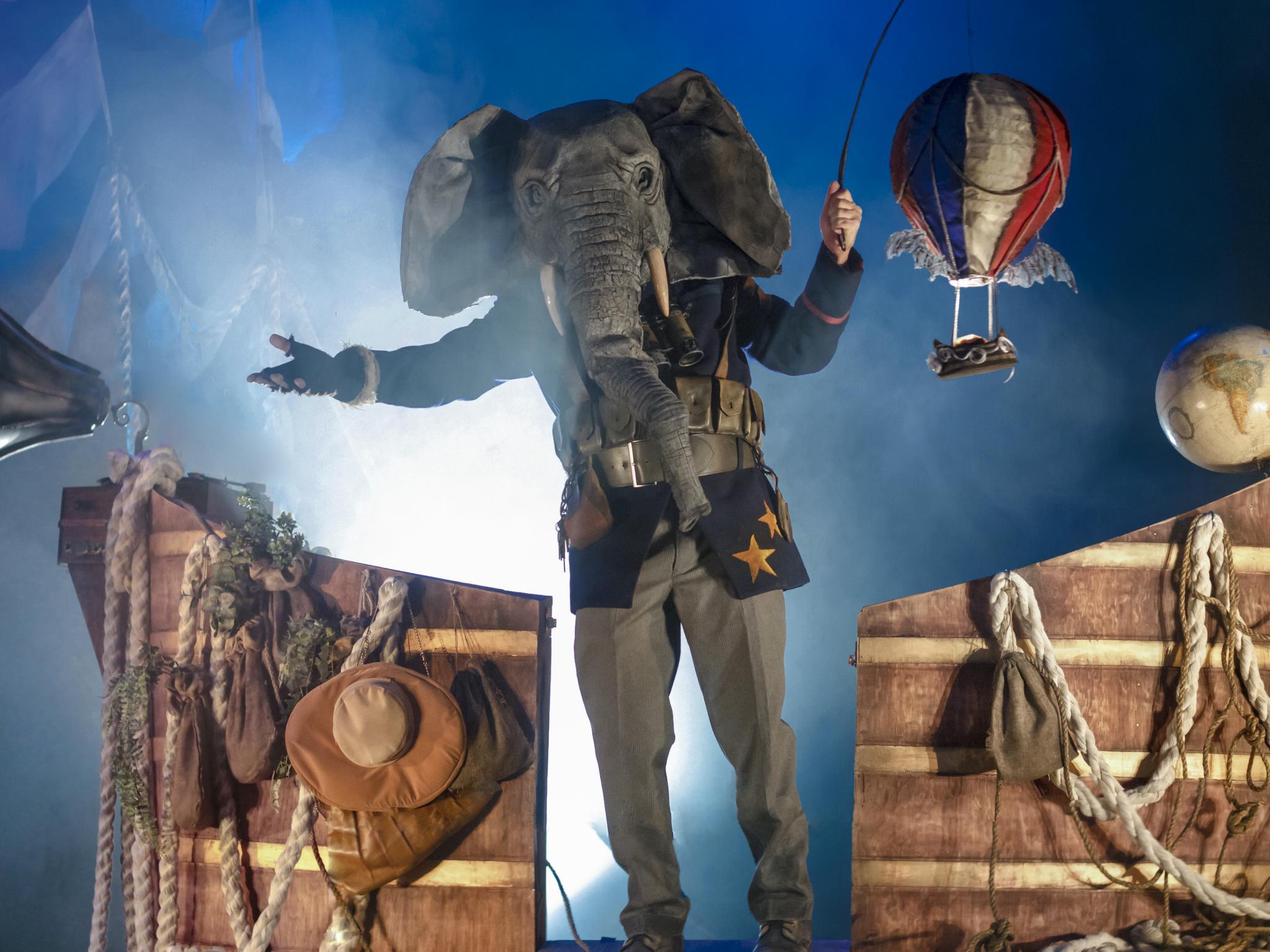 Elefantes (Foto: Cortesía de la producción)