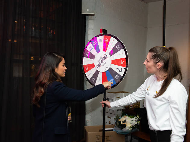 Time Out Food Awards 2019 Prize Wheel