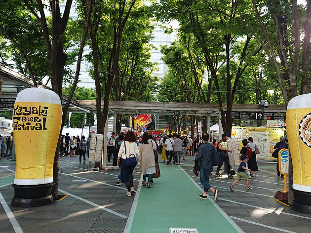 第16回けやきひろば秋のビール祭り Keyaki Autumn Beer Festival