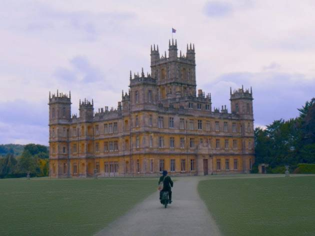 A still from the trailer of Downton Abbey the movie.