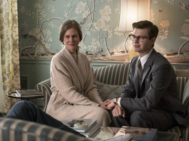 Nicole Kidman and Ansel Elgort in The Goldfinch