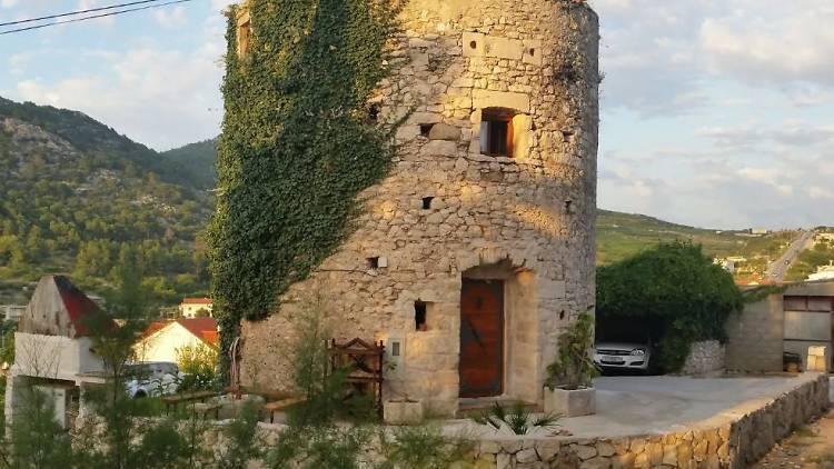 'Old tower, Hvar historical center', Hvar